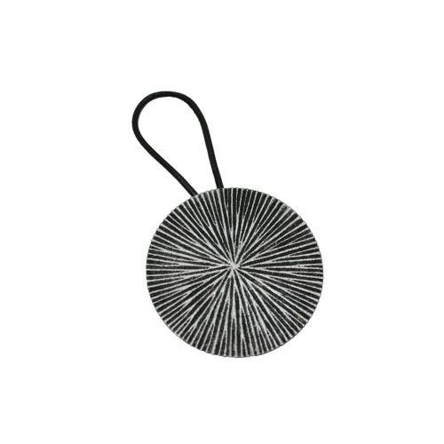 GARDINIA Gardinenring »Raffband Kreis silber-antik Ø 7,5 cm«,
