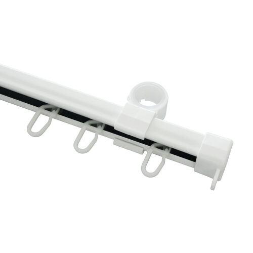 GARDINIA Schienensystem »U-Laufschiene weiß 150 cm«,
