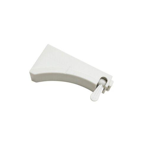 GARDINIA Gardinenstange »Wandträger weiß 7 cm«,