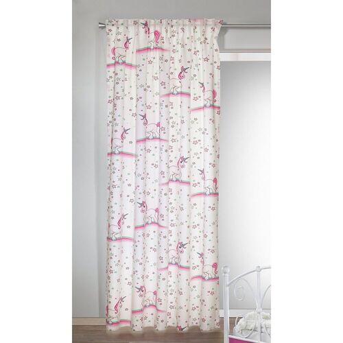 Albani Vorhang »Gardine Einhorn pink, 245 x 135 cm«,