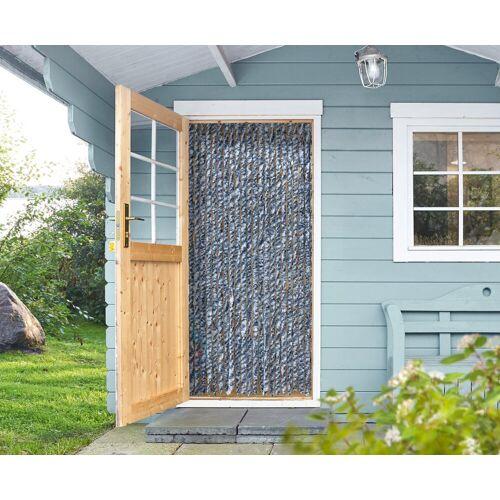 EXPLORER Insektenschutz-Vorhang, weiß/blau