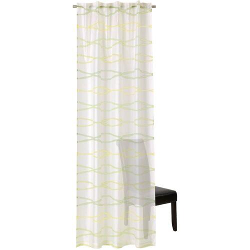 Neutex for you! Vorhang »Nilo«, , verdeckte Schlaufen (1 Stück), Schal mit verdeckten Schlaufen, grün