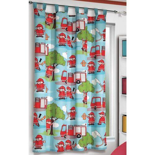 Albani Vorhang »Vorhang Feuerwehr, 160 x 140 cm, bunt (1 Schal)«,