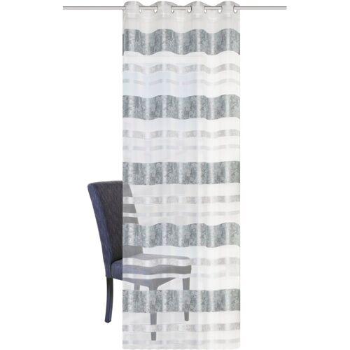 HOME WOHNIDEEN Vorhang »KIRAN«, , Ösen (1 Stück), HxB: 245x140, Jacquardmusterung, mint