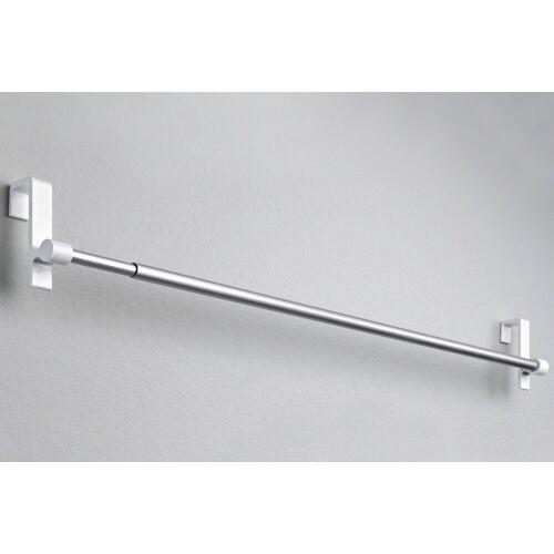 heine home Spanngardinenstange clip ausziehbar, weiß
