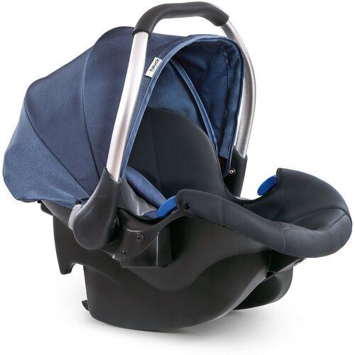 Hauck Babyschale »Babyschale Comfort Fix, Black«, blau/grau