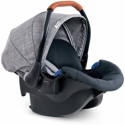 Hauck Babyschale »Babyschale Comfort Fix, Black«, grau