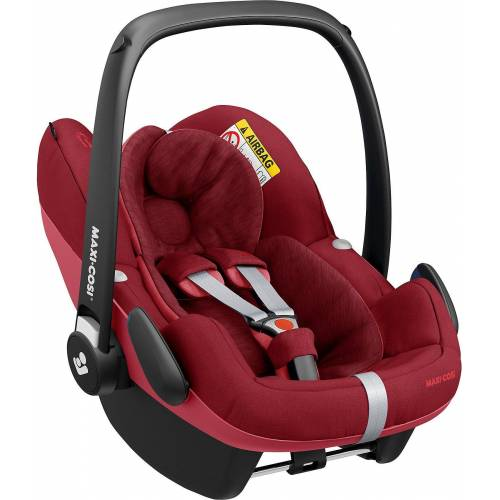 Maxi-Cosi Babyschale »Babyschale Pebble Pro, Essential Grey«, rot