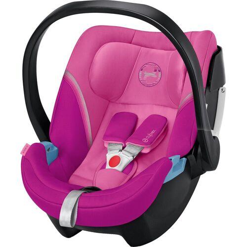 Cybex Babyschale »Babyschale Aton 5, Gold-Line, Classic Beige«, pink
