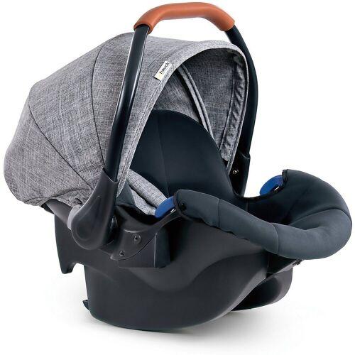 Hauck Babyschale »Babyschale Comfort Fix, Black«, grau