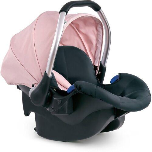 Hauck Babyschale »Babyschale Comfort Fix, Black«, rosa/grau