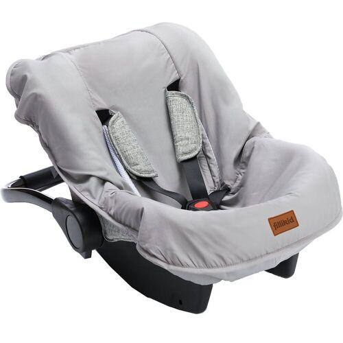 Fillikid Babyschale »Sommerbezug für Babyschale, hellgrau«