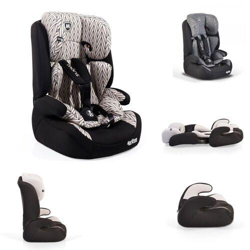 Moni Autokindersitz »Kindersitz Armor Gruppe 1/2/3«, 5.4 kg, (9 - 36 kg) 1 bis 12 Jahre Kopfstütze Kissen, beige