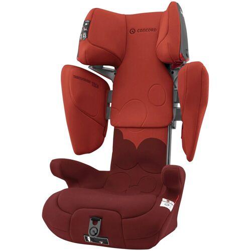 Concord Autokindersitz »Transformer Tech«, 7,70 kg, Für Kinder zwischen 3 und 12 Jahren, rot