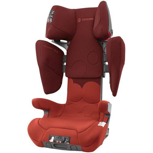 Concord Autokindersitz »Transformer XT Plus«, 9,90 kg, Für Kinder zwischen 3 und 12 Jahren, rot-grau
