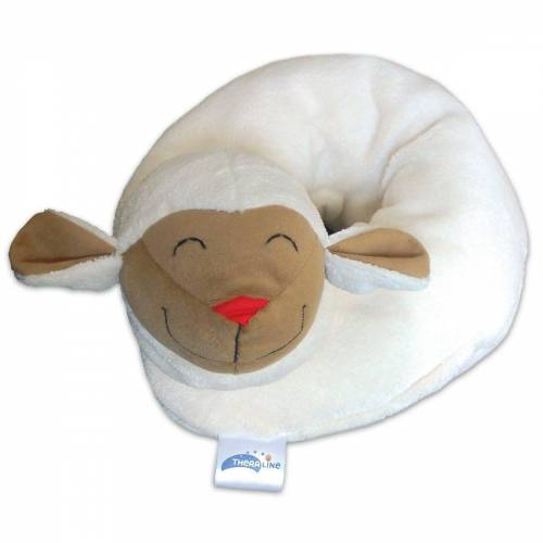 Theraline Nackenkissen, »Baby Nackenkissen Schaf, 65 cm x 10 cm«,