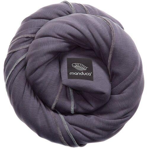 manduca Tragetuch »Tragetuch sling, black«, grau