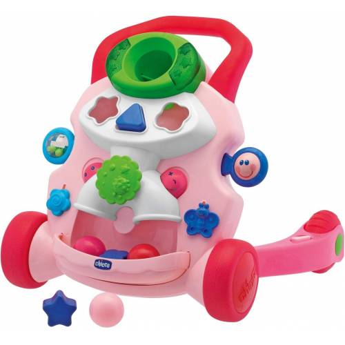 Chicco Lauflernhilfe »2in1 Lauflernwagen, rosa«, mit Activity Center