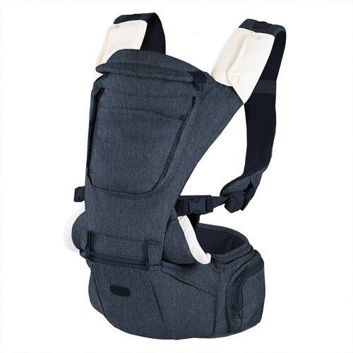 Chicco Babytrage »Babytrage Hip Seat - Denim«