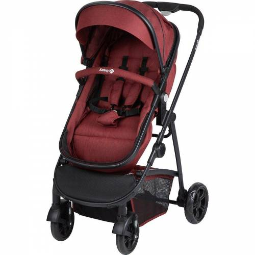 Safety 1st Kombi-Kinderwagen »Kinderwagen, Hello 2in1, Geometric«, rot