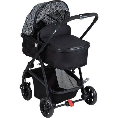 Safety 1st Kombi-Kinderwagen »Kinderwagen, Hello 2in1, Geometric«, mehrfarbig