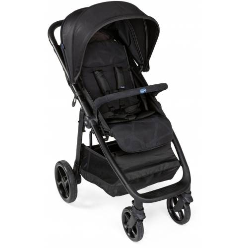 Chicco Sport-Kinderwagen »Multiride, Jet Black«, XXL-Verdeck mit SPF UV50+; Kinderwagen, Buggy, Sportwagen, Kinder-Buggy, Kinderbuggy