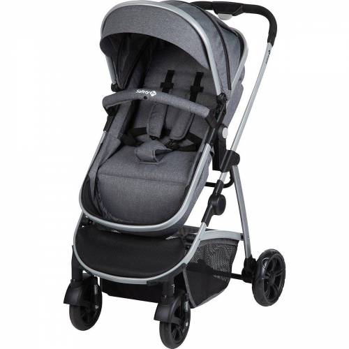 Safety 1st Kombi-Kinderwagen »Kinderwagen, Hello 2in1, Geometric«, schwarz