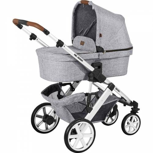 ABC Design Kombi-Kinderwagen »Kombi Kinderwagen Salsa 4, gravel«, graphit