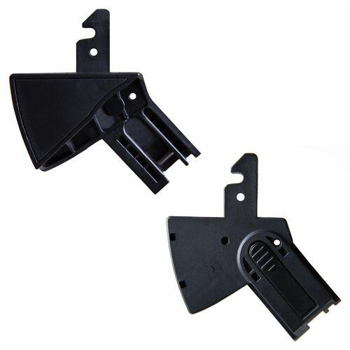 Hauck Kinderwagen-Adapter »Adapter Lift up 4 - Comfort Fix«, (2-tlg), für Autositz