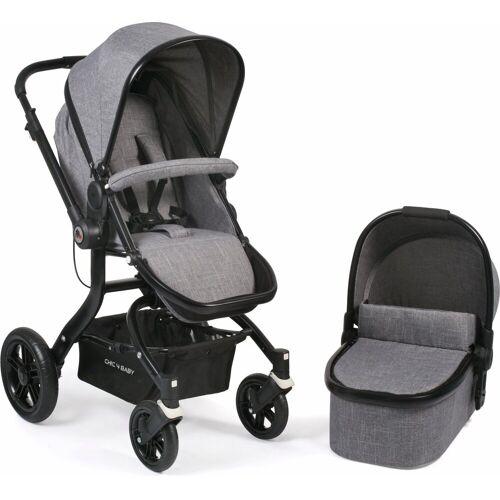 CHIC4BABY Kombi-Kinderwagen »Tano, grau«, ; Kinderwagen