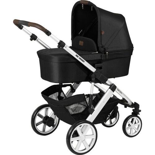 ABC Design Kombi-Kinderwagen »Kombi Kinderwagen Salsa 4, gravel«, grau