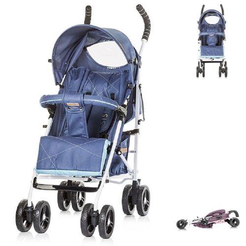 Chipolino Kinder-Buggy »Kinderwagen Buggy Sisi«, Buggy, Rückenlehne einstellbar, blau