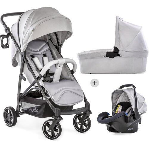 Hauck Kombi-Kinderwagen »Rapid 4S Plus Trio Set Lunar/Stone«, mit Babyschale; Kinderwagen