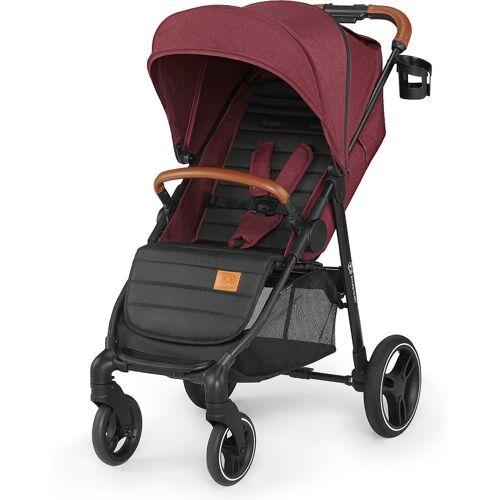 Kinderkraft Kombi-Kinderwagen »Kinderwagen Grande 2020, burgunderrot«, rot