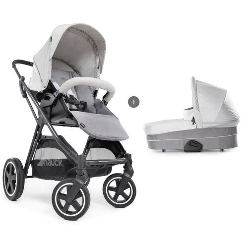 Hauck Kombi-Kinderwagen »iPro Mars Duoset, Lunar/Stone«, mit Babywanne