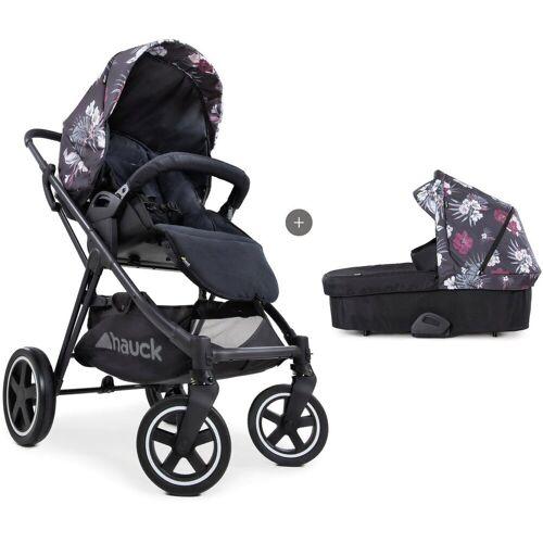 Hauck Kombi-Kinderwagen »iPro Mars Duoset, wild blooms«, mit Babywanne