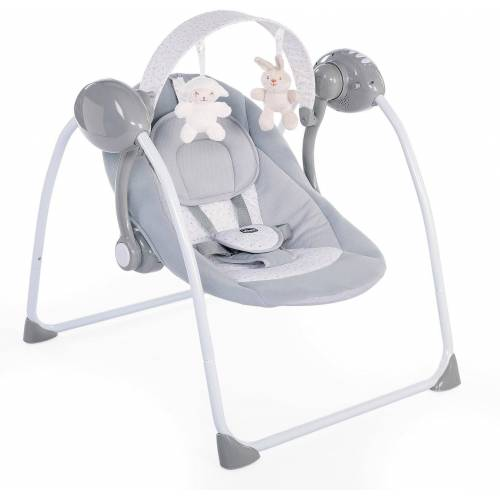 Chicco Babyschaukel »Relax & Play, Cool Grey«, elektrisch