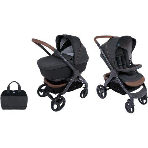 Chicco Kombi-Kinderwagen »Duo Stylego Up Crossover, Graphite«, ; Kinderwagen