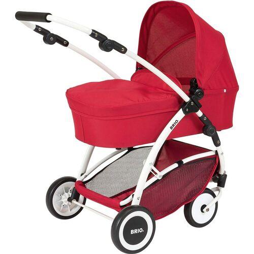 Brio Puppenwagen »Puppenwagen Spin rot mit Schwenkrädern«
