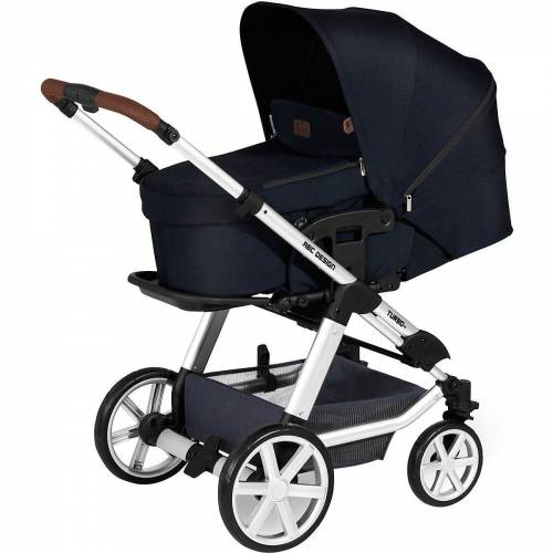 ABC Design Kombi-Kinderwagen »Kombi Kinderwagen Turbo 4, shadow«, anthrazit
