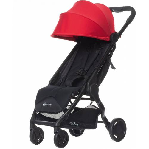 Ergobaby Kinder-Buggy »Buggy Metro Compact City Stroller - Black«, rot