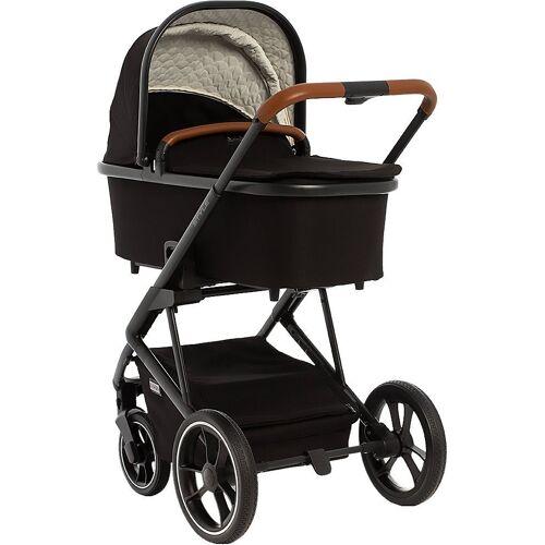 Moon Kombi-Kinderwagen »Kombi Kinderwagen Style, stone«, schwarz