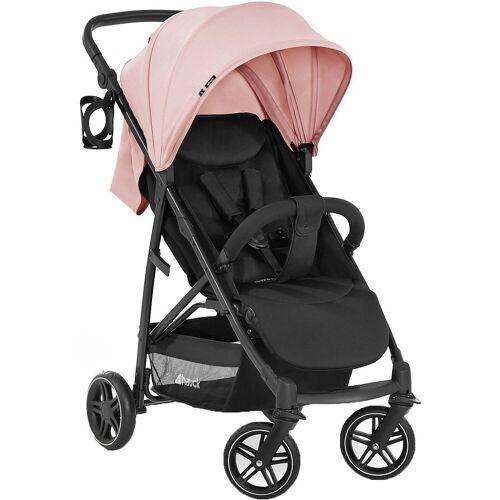 Hauck Kinder-Buggy »Buggy Rapid 4R Plus, Black«, rosa