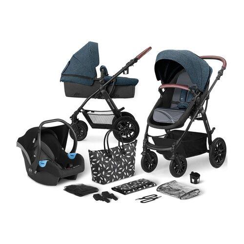 Kinderkraft Kombi-Kinderwagen »Kinderwagen Xmoov, multifunktional, 3in1, denim«, denim