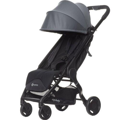 Ergobaby Kinder-Buggy »Buggy Metro Compact City Stroller - Black«, grau