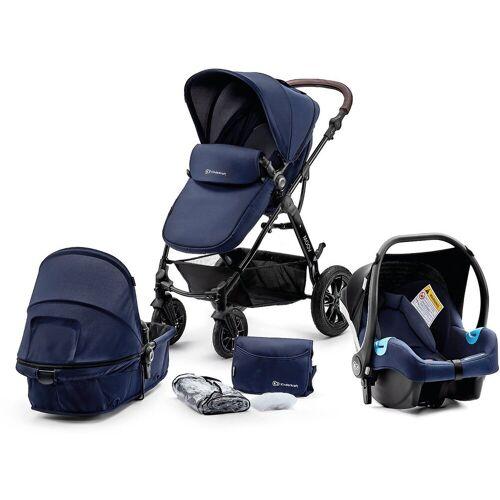 Kinderkraft Kombi-Kinderwagen »Kombi Kinderwagen Moov, 3in1, schwarz«, dunkelblau