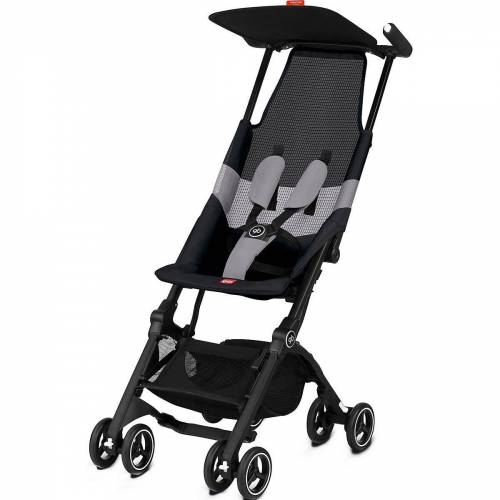 gb GOLD Kinder-Buggy »Buggy Pockit Air All-Terrain, Velvet Black«