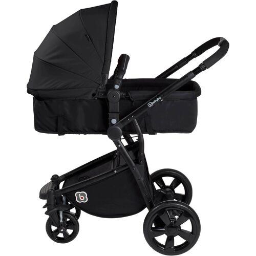 BabyGo Kombi-Kinderwagen »Spring, black«