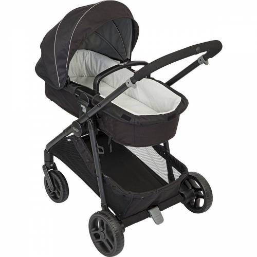 Graco Kombi-Kinderwagen »Transform-Kinderwagen 2-in-1, grau«, schwarz
