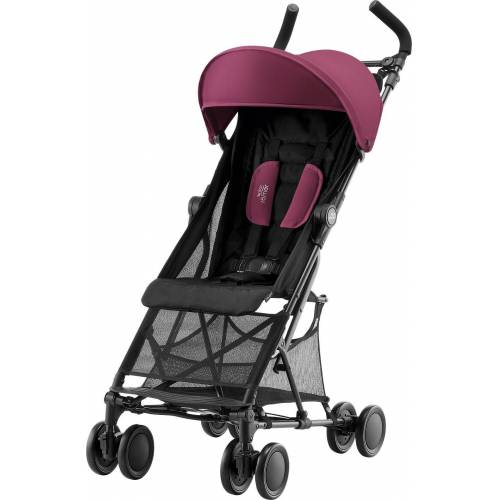 BRITAX RÖMER Kinder-Buggy »Buggy Holiday 2, Wine Red«, rot